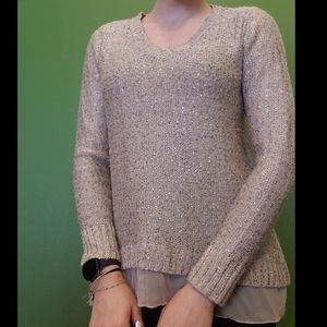The Limited Sequined Sweater